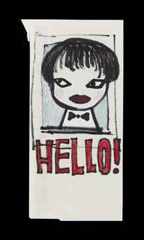 Yoshitomo Nara-Hello!-2002