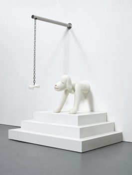 Yoshitomo Nara-I Think, Therefore I Am...A Dog-2003
