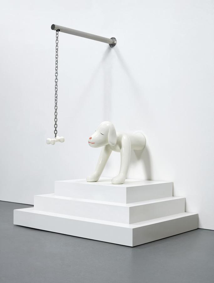 Yoshitomo Nara-I Think, Therefore I Am...A Dog-2003