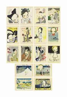 Yoshitomo Nara-In the Floating World-1999