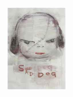 Yoshitomo Nara-Sad Dog-1998
