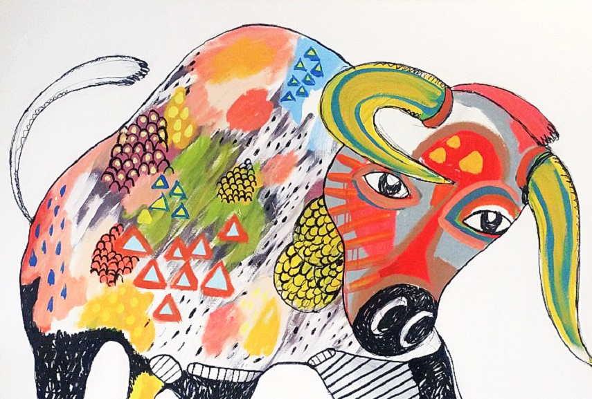Yosi Messiah - Wild at heart, detail.