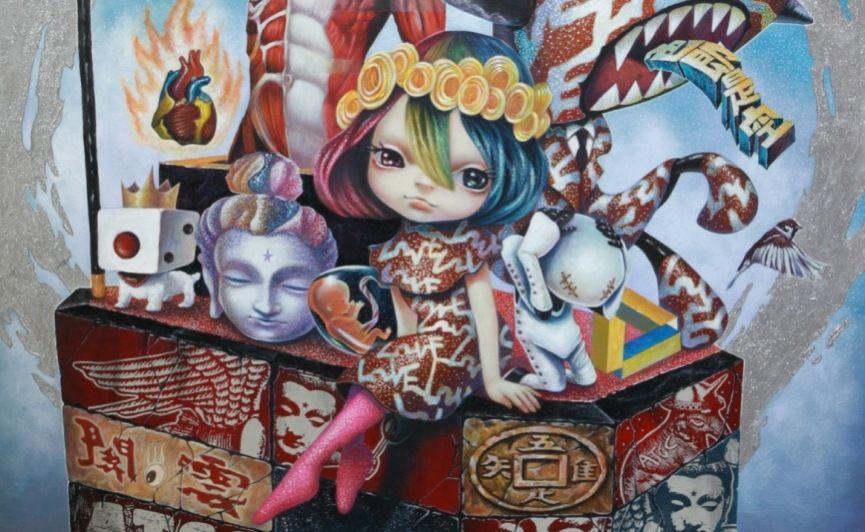 Yosuke Ueno - Detail, 2015 courtesy of Thinkspace gallery , Los Angeles