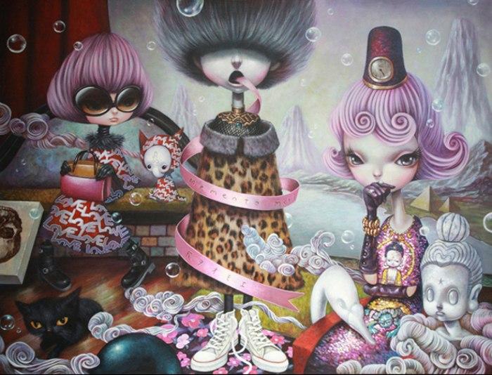 pop surrealism, Yosuke Ueno