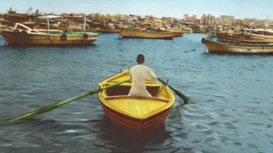 Youssef Nabil - Say goodbye, Self Portrait, Alexandria 2009 (detail)