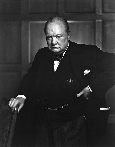 Yousuf Karsh - Sir Winston Churchill, 1941