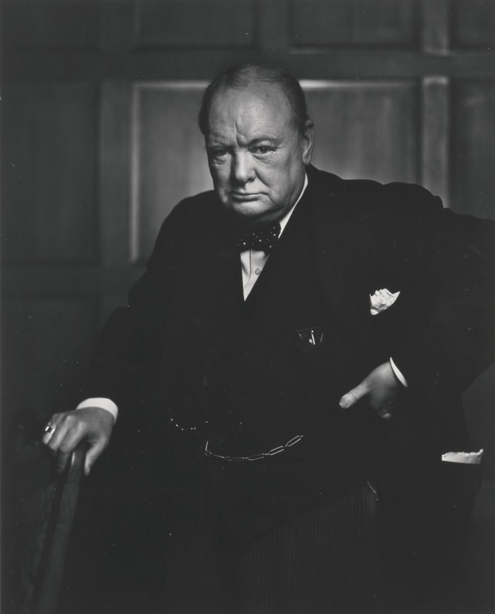 Yousuf Karsh-Winston Churchill-1941