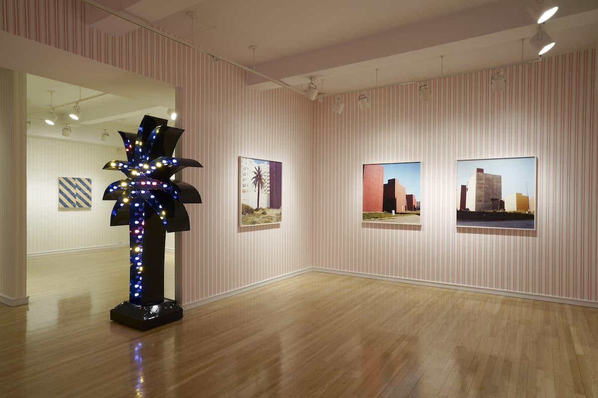 Yto Barrada at Pace, Installation View