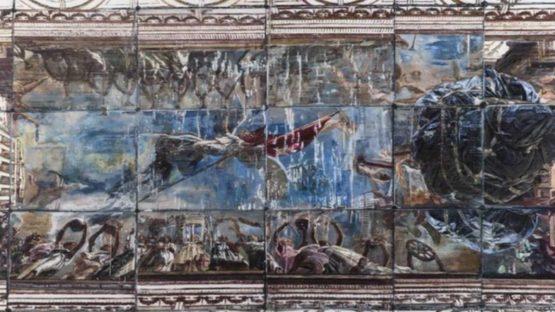Yuan Yuan - Floor, 2015 (detail) - photo courtesy Edouard Malingue Gallery