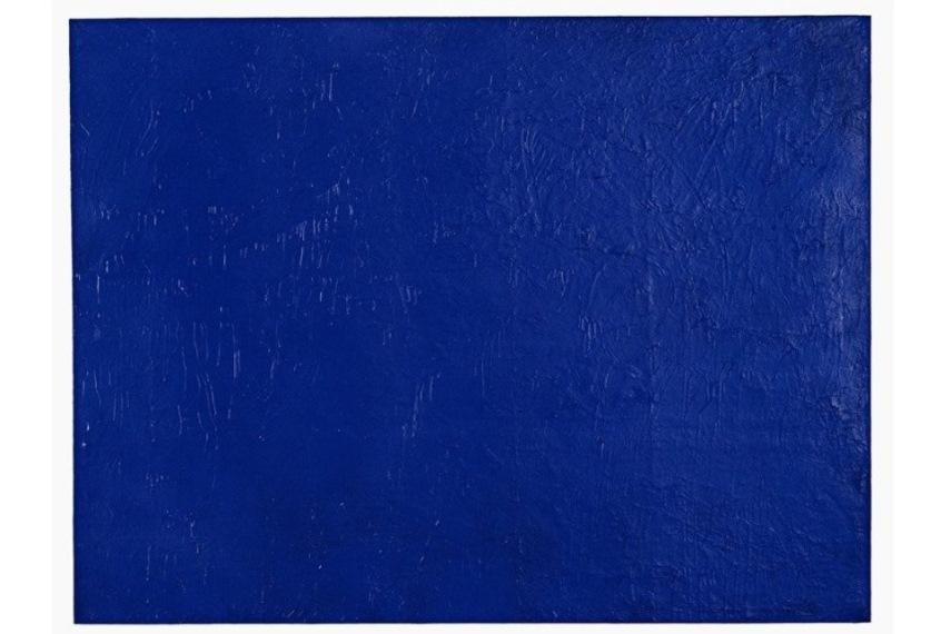 Yves Klein - IKB Godet colour, 1960 - 1961