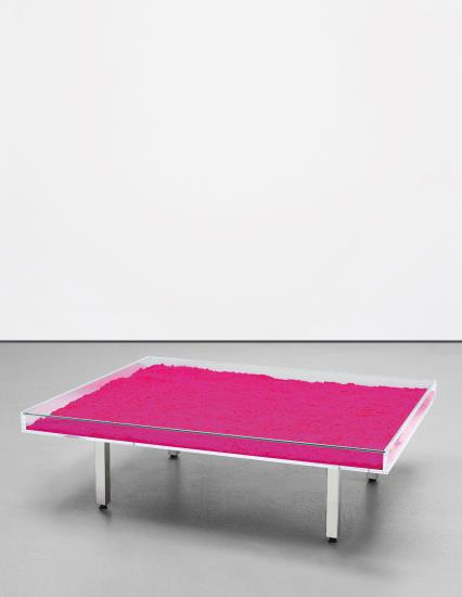 Yves Klein-Table Rose (Pink Table)-1963