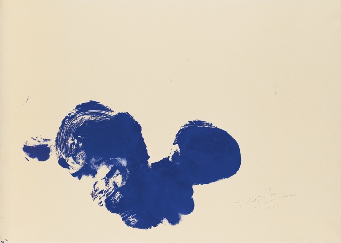 Yves Klein-Untitled Anthropometry (Ant 161)-1961