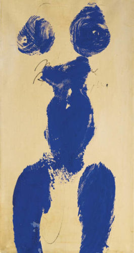 Yves Klein-Untitled Anthropometry (Ant 59)-1960