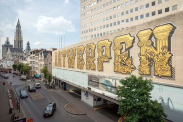 Baroque and Rubens Inspire Four Graffiti Artists and Their New Murals in Antwerp!