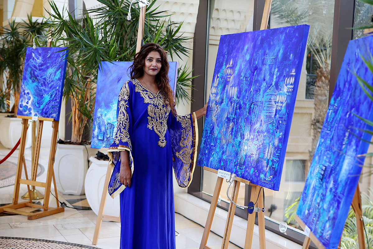 Zaahirah Muthy. World Art Dubai 2018