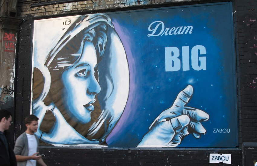 Zabou - Dream Big, London, UK, 2015 une life 2016 title
