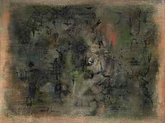 Zao Wou-Ki-Dordogne-1954