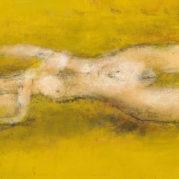 Zao Wou-Ki - Nu Couche (Reclining Nude), 1952 (Detail)