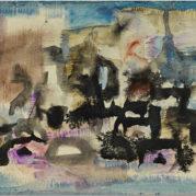 Zao Wou-Ki - Spirits, 1956 (Detail)