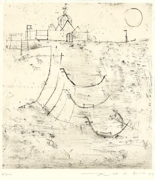 Zao Wou-Ki-Venice-1951