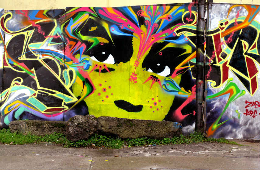 Zas with Stinkfish - Untitled, Bogota, 2012, photo credits streetartnews.net