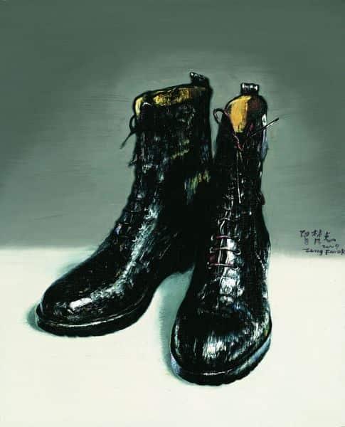 Zeng Fanzhi - Boots, 2009