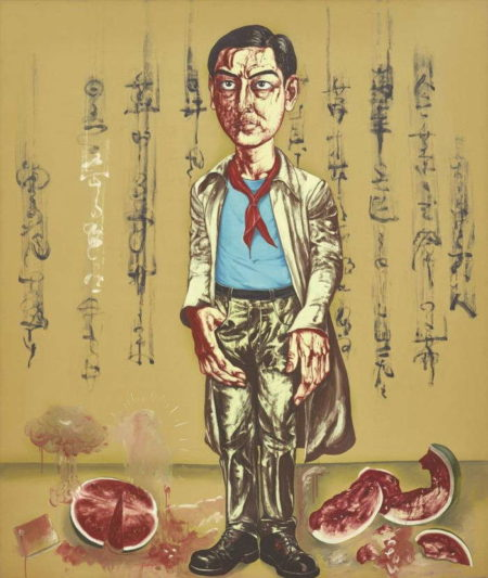 Zeng Fanzhi-Self-Portrait-1996