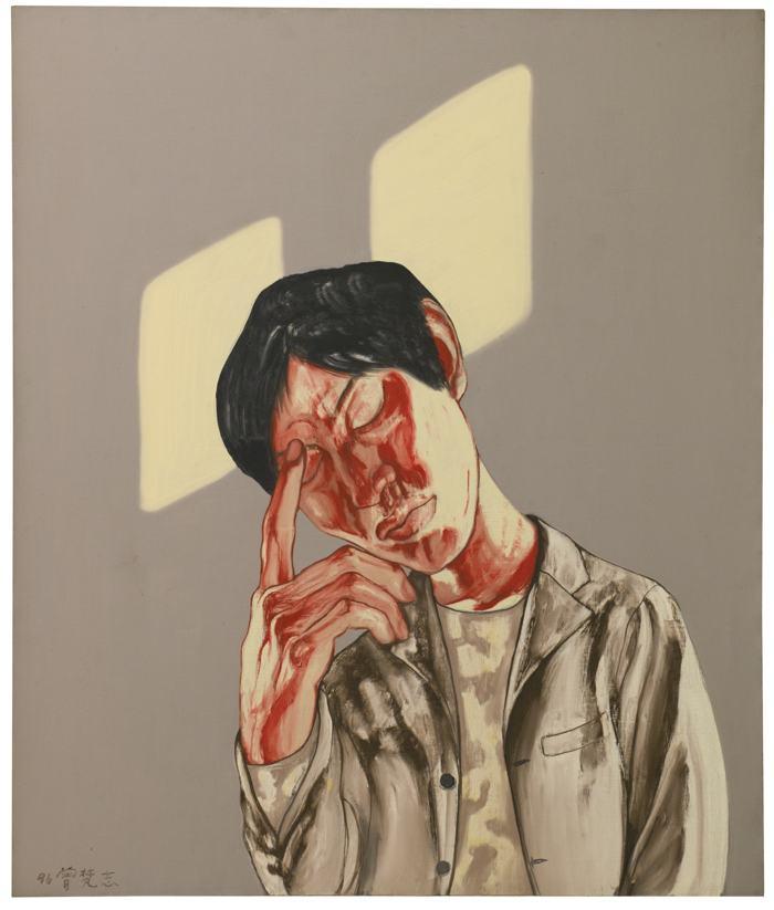 Zeng Fanzhi-Untitled-1996