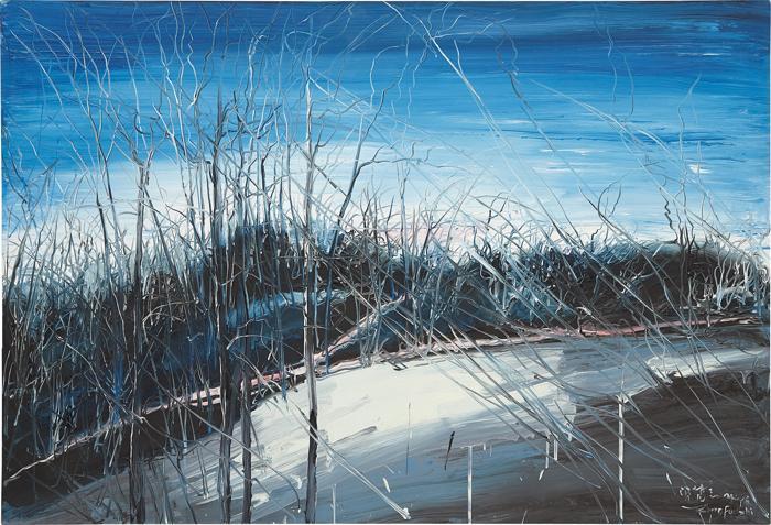 Zeng Fanzhi-Untitled (Landscape)-2006