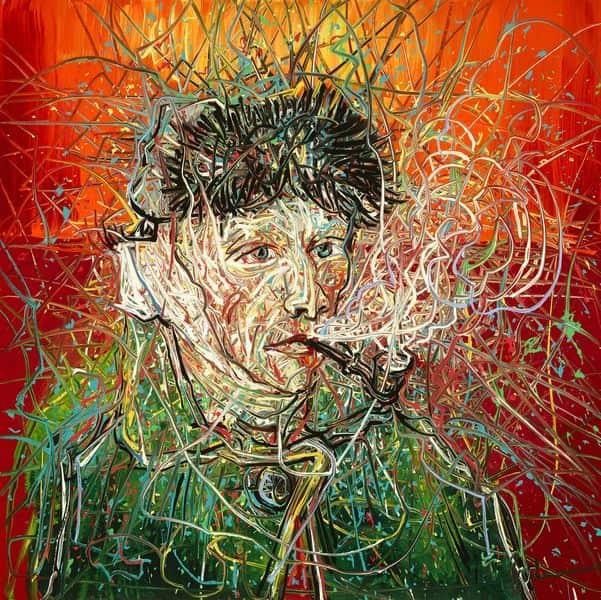 Zeng Fanzhi - Van Gogh III, 2017