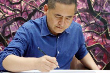 Zeng Fanzhi - portrait