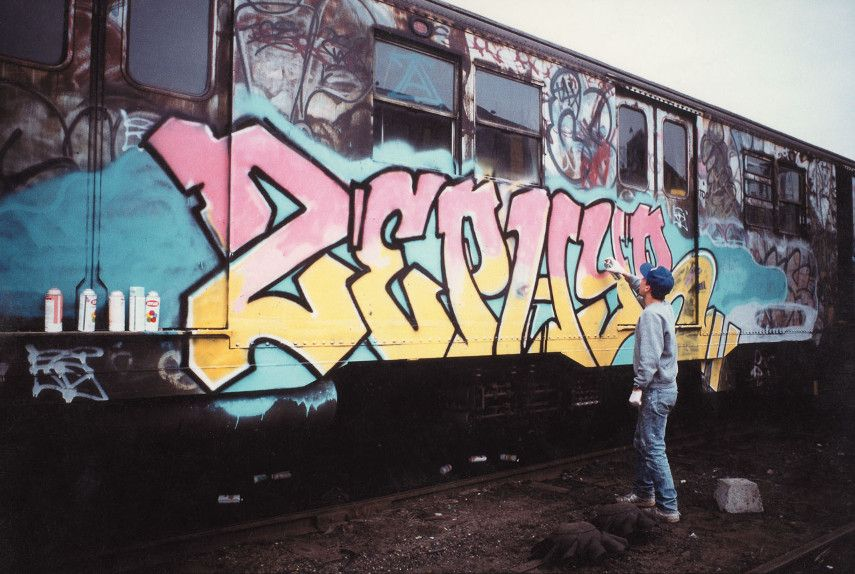 Zephyr - Tag from the mid-1980s