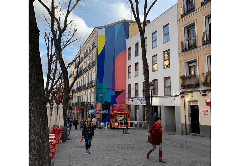 Zest Mural Urvanity Art Madrid 2020