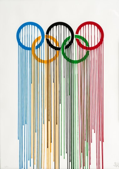 Zevs-Liquidated Olympic Rings-2012