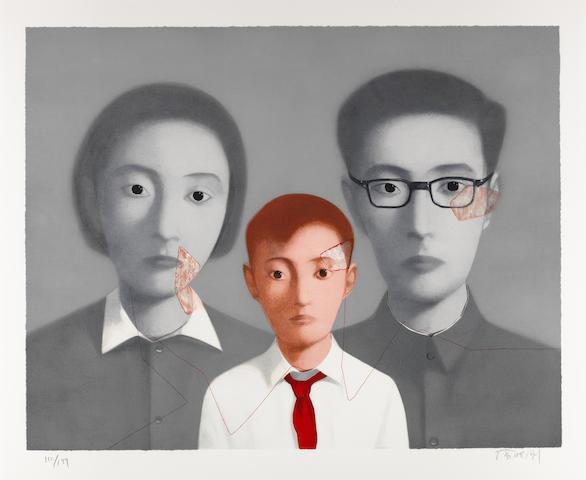 Zhang Xiaogang-Big Family-2003