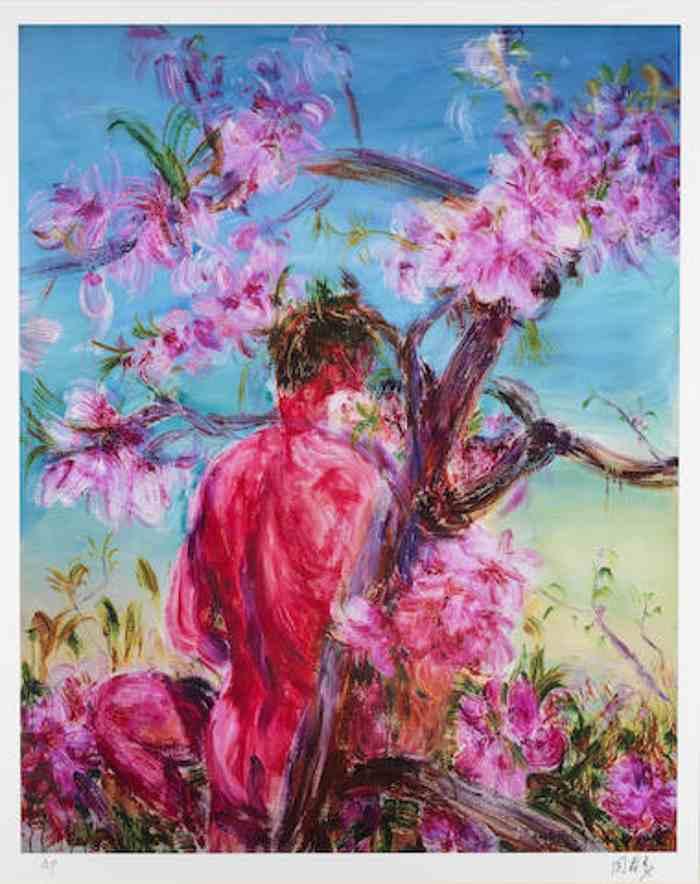 Zhou Chunya-Peach Blossom-2006