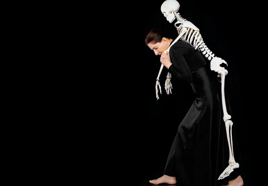 Carrying a skeleton