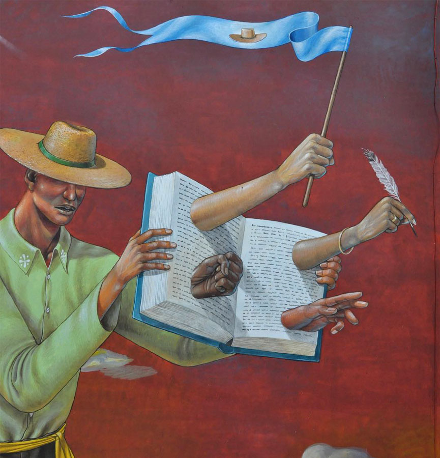 New mural by Aec Interesni Kazki
