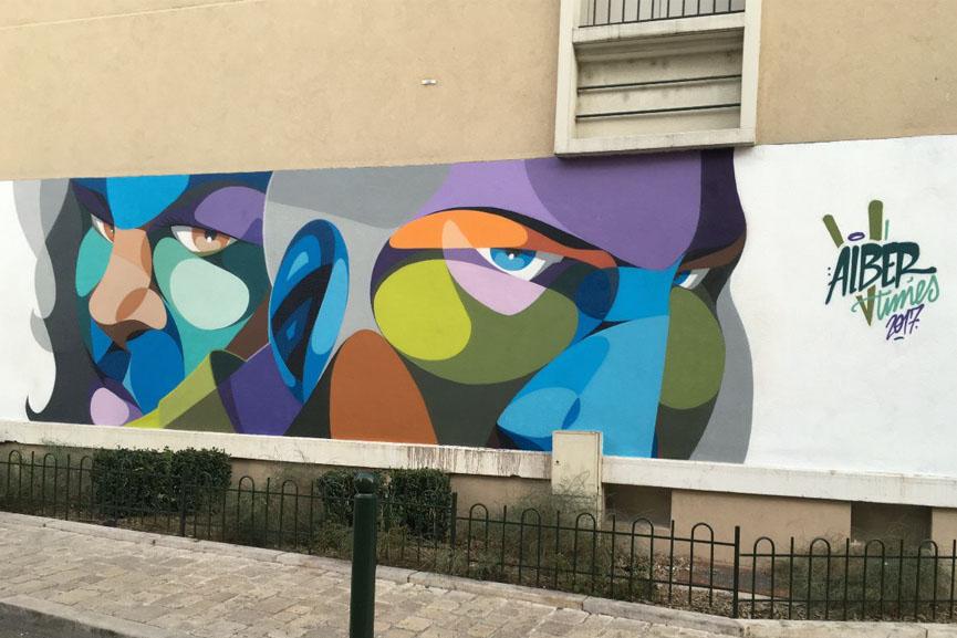 mural by Alberoner