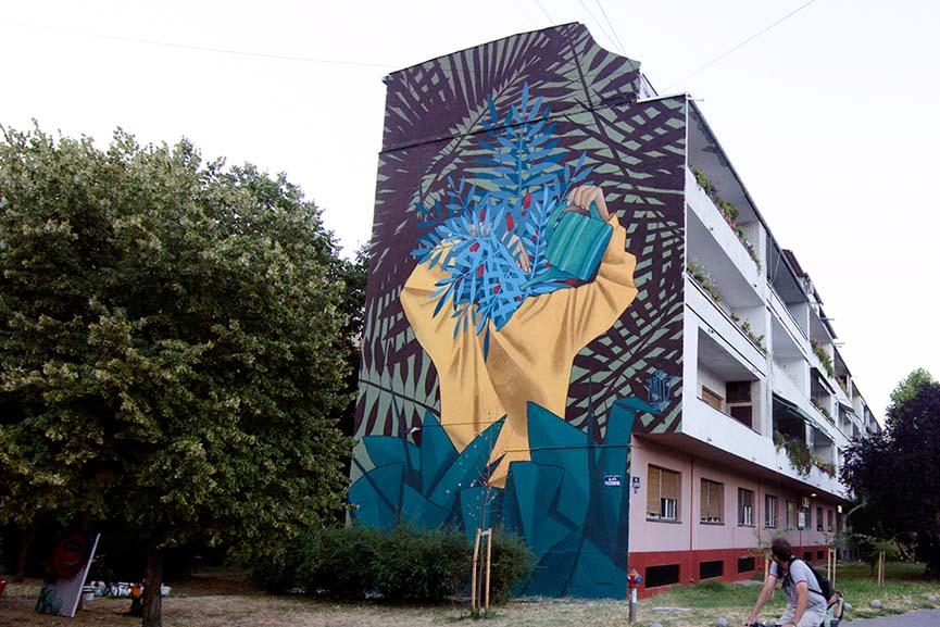 Mural by Artez in Novi Sad