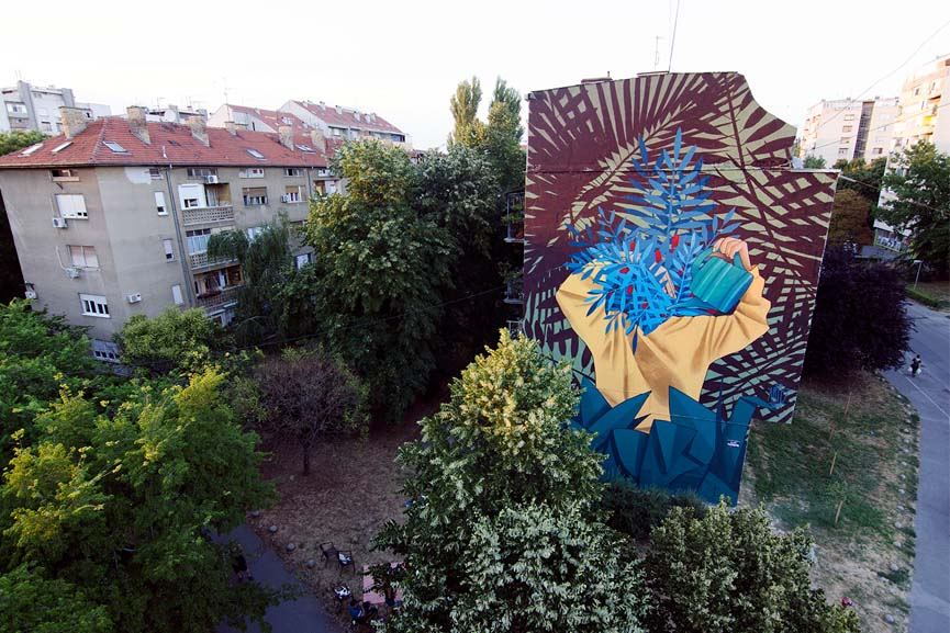 New wall by Artez