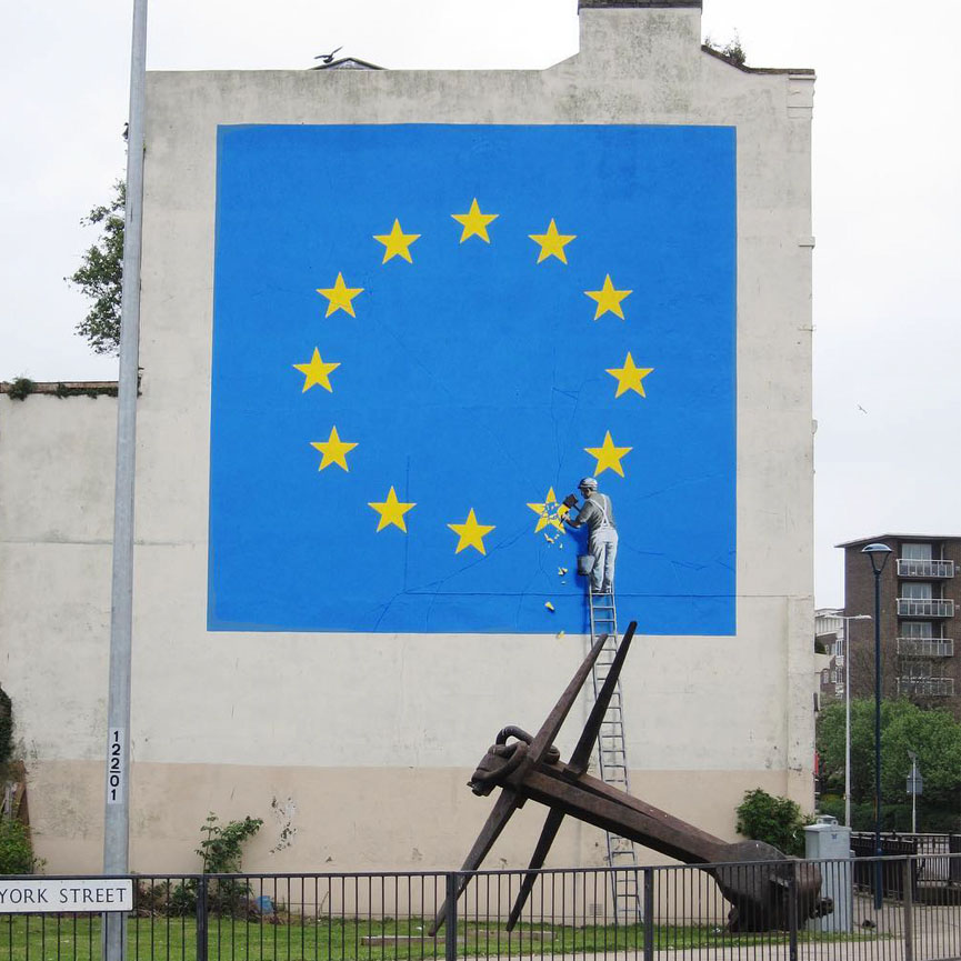 New mural by Banksy