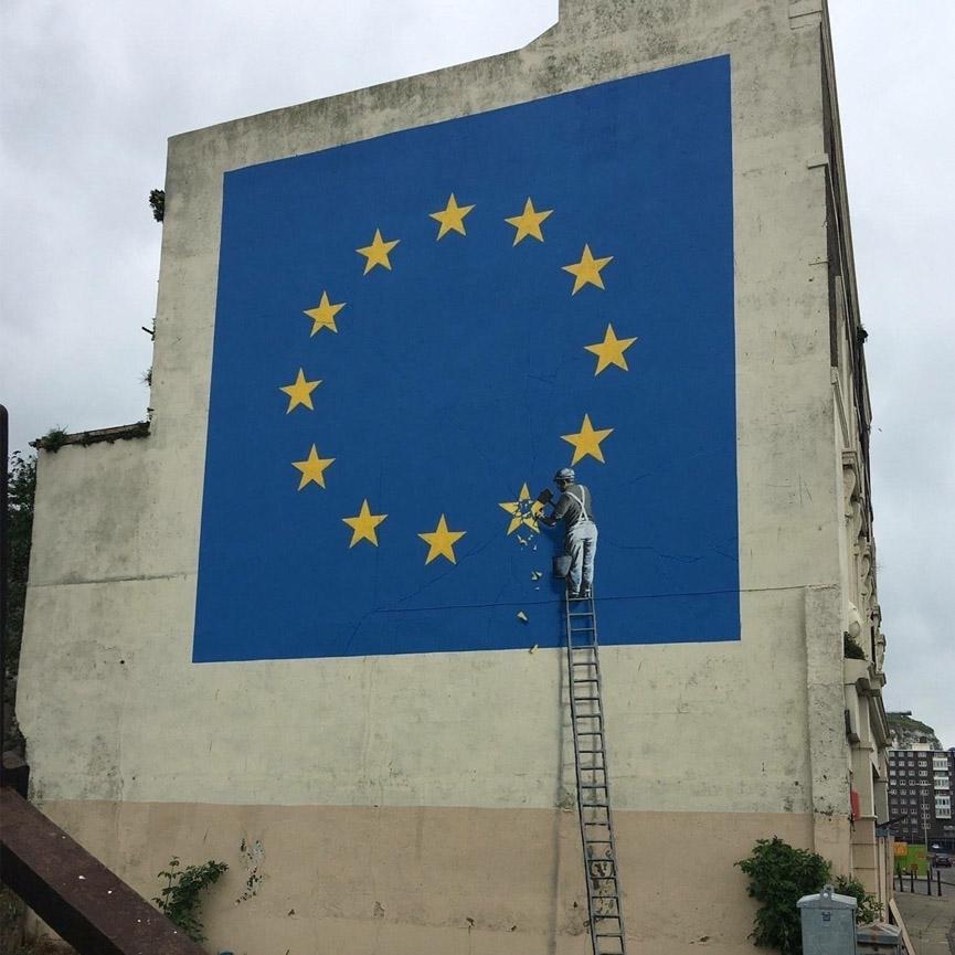 Dover Banksy Mural