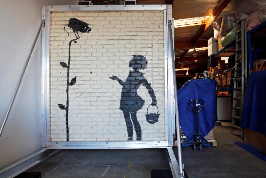 Banksy, Flower Girl