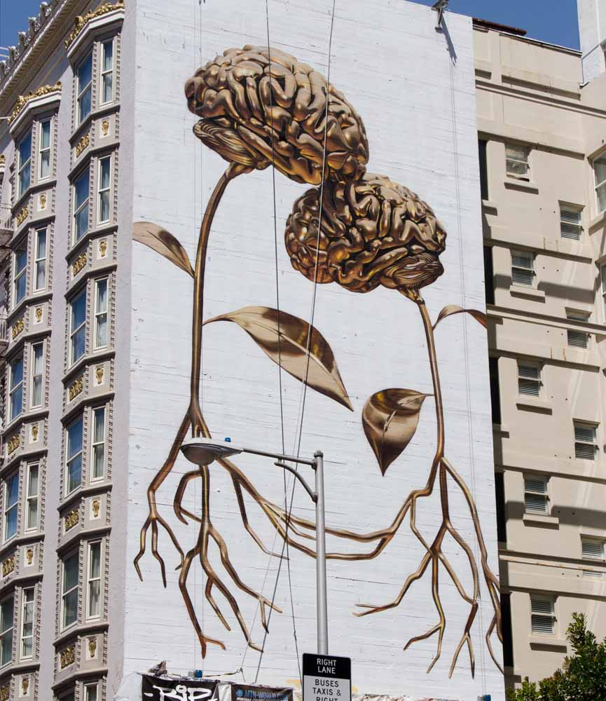 New wall by BiP in San Francisco