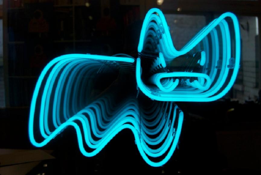 Pure Evil Neon Bunny