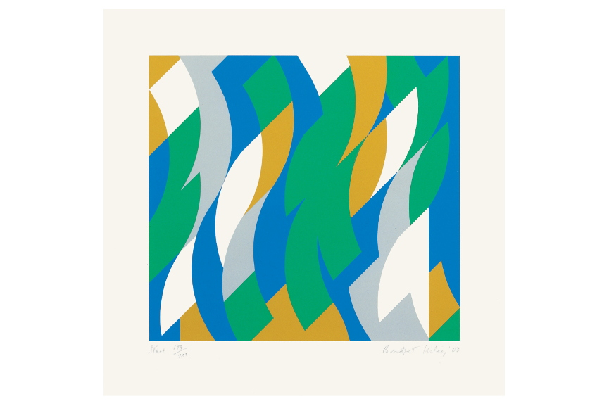 Bridget Riley-Start-2000