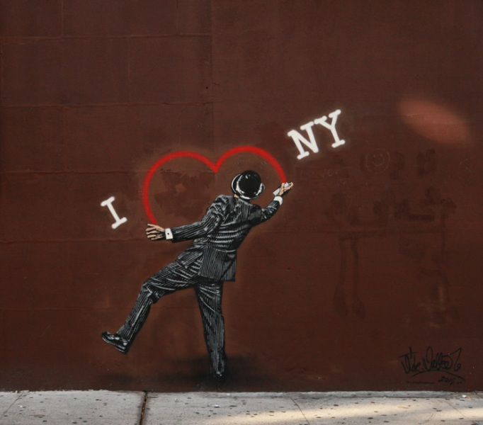Vandal in New York