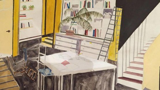 charlotte keates - vacated, detail