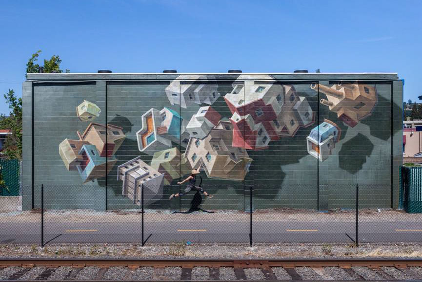 New mural by Cinta Vidal